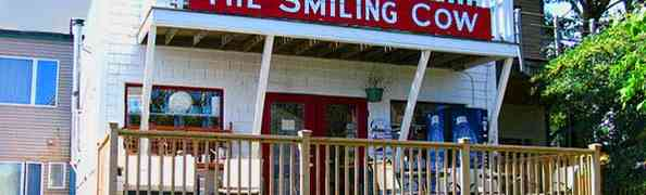 How Can You Resist Going into a Store Called The Smiling Cow?