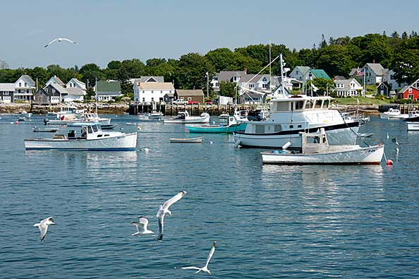 Carver Harbor, Vinalhaven Maine