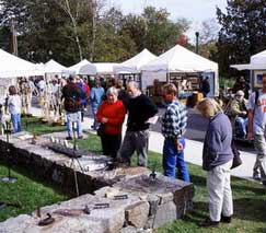 Camden Harbor Arts & Crafts Show