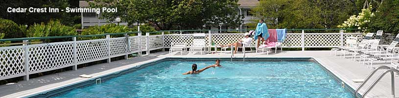 Cedar Crest Inn swimming pool