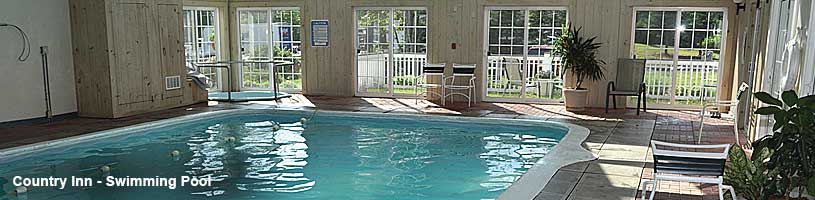 Country Inn Heated Indoor Swimming Pool