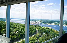 Penobscot Narrow Observatory views