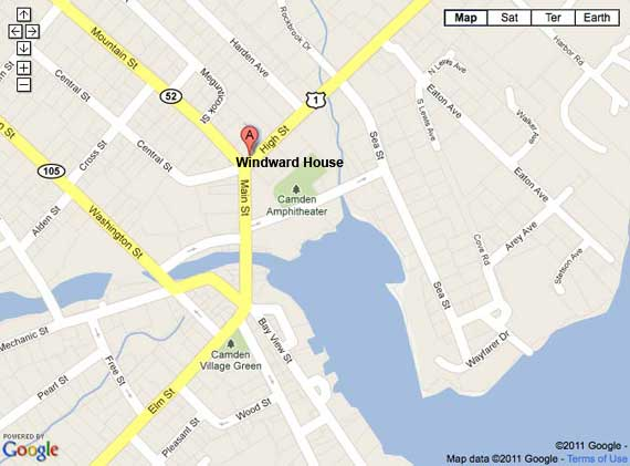 Windward House map
